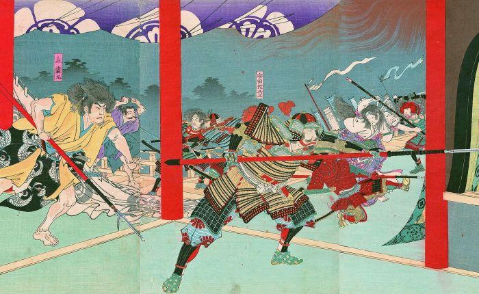 Filologie dne: incident v chrámuHonnō